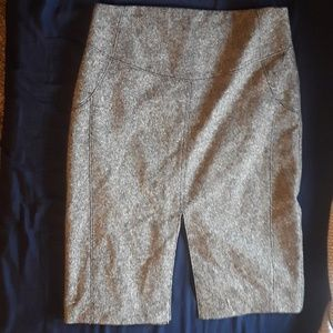 Express double slit pencil skirt size 6